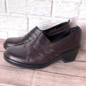 Dansko Shoes Size 40 9.5-10 Brown Slip On Comfort